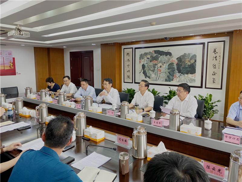市委副书记、市长王晖到欧宝体育登陆首页集团调研指导工作